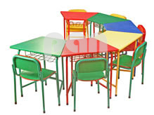 School Furniture India Classroom Furniture India From PAN - Half circle conference table