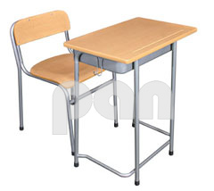Single Desk/Chair - PUC/10+2/Nursing School/Management Training Institutes