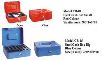 steel cash boxes