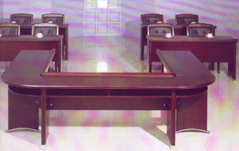Shifa Series Horse Shoe Conference Table
